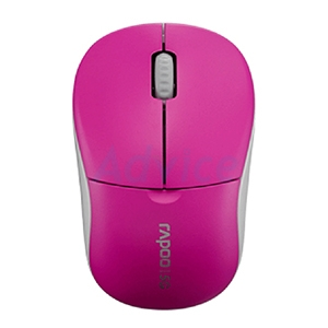 Wireless Optical Mouse RAPOO (MS1090P-PK) Pink