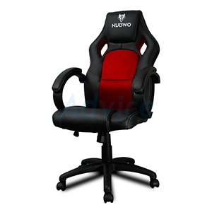 CHAIR NUBWO NBCH-10 (MERCENARY) (Black/Red)