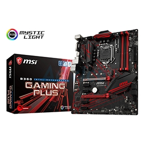 (1151V2) MSI B360 GAMING PLUS