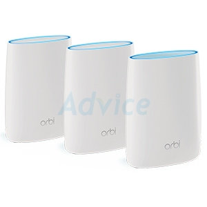 Whole-Home Mesh NETGEAR Orbi (RBK53) Wireless AC3000 Tri-band