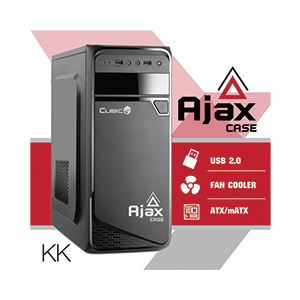 ATX Case (NP) CUBIC Ajax (Black)