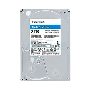 3 TB SATA-III TOSHIBA V300 Blue (64MB  5940RPM) For CCTV