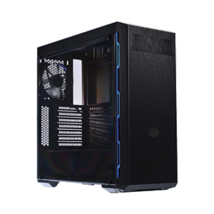 ATX Case (NP) COOLERMASTER MB600L (Black/Blue)