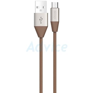 Cable USB To Micro USB (1M,S32) 'ELOOP' Brown