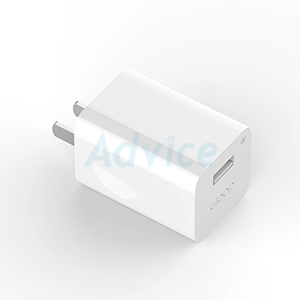 Adapter 1USB Charger (2.4A,EQ24) 'ELOOP' White