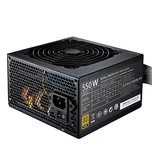 PSU (80+ Gold) COOLERMASTER MWE550 (550W.)