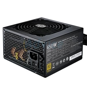 PSU (80+ Gold) COOLERMASTER MWE650 (650W.)