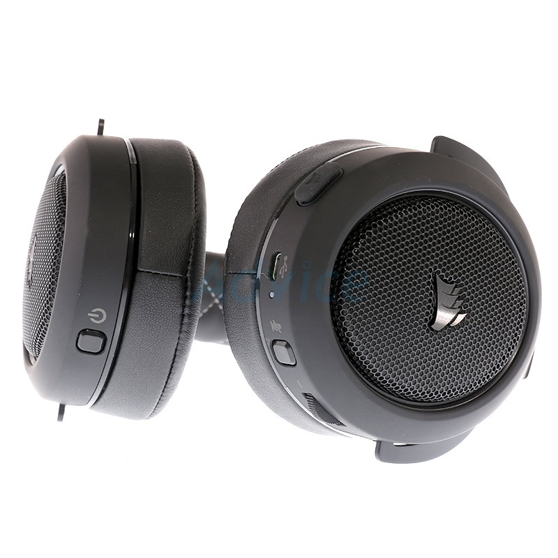 HEADSET (7.1) CORSAIR HS70 Wireless (Carbon)