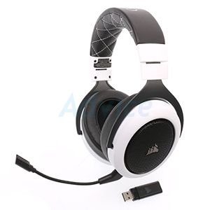 HEADSET (7.1) CORSAIR HS70 WIRELESS WHITE