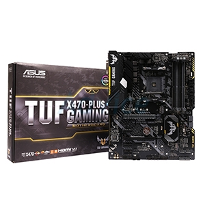 (AM4) ASUS TUF X470 PLUS GAMING