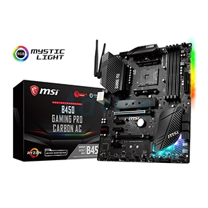 (AM4) MSI B450 GAMING PRO CARBON AC