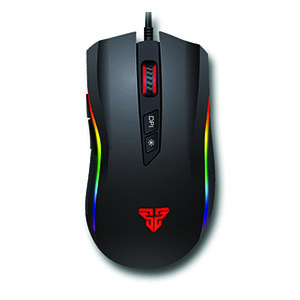OPTICAL MOUSE FANTECH Titan X4S GAMING  (Black)