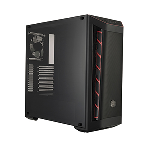 ATX Case (NP) COOLERMASTER MB511 (Black/Red)