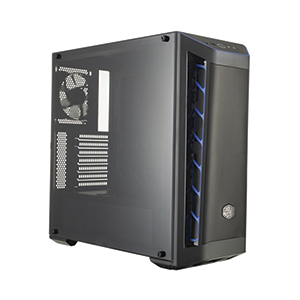 ATX Case (NP) COOLERMASTER MB511 (Black/Blue)