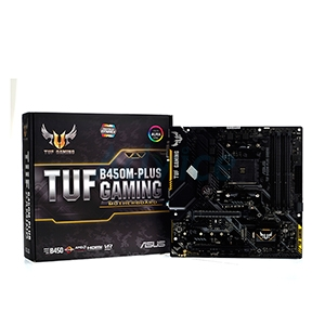 (AM4) ASUS TUF B450M PLUS GAMING