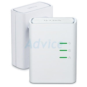 Powerline D-LINK (DHP-309AV) AV500 Mini Adapter ชุดคู่