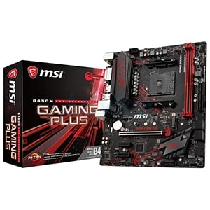 (AM4) MSI B450M GAMING PLUS