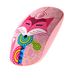 Wireless Optical Mouse OKER (i245) Pink