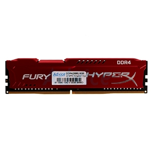 RAM DDR4(2666) 8GB Kingston Hyper-X FURY(HX426C16FR2/8)