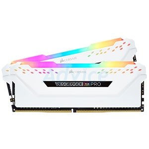 RAM DDR4(3200) 32GB (16GBX2) Corsair Vengeance RGB PRO White