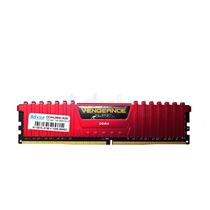 RAM DDR4(2666) 8GB CORSAIR Vengeance LPX Red (CMK8GX4M1A2666C16R)