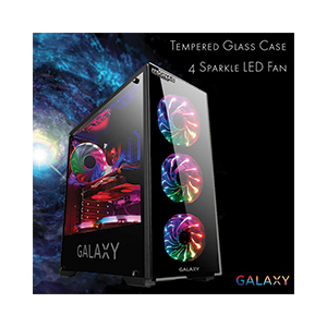 ATX Case (NP) ITSONAS Galaxy Sparkle (Black)