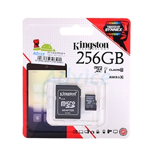SD Card 256GB Kingston (SD10G2  Class 10)