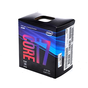 CPU Intel Core i7 - 8700 (Box WPG)