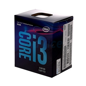CPU INTEL CORE I3 - 8100 LGA 1151V2 (ORIGINAL)