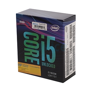 CPU INTEL CORE I5 - 9600K LGA 1151V2 (ORIGINAL) NO CPU COOLER