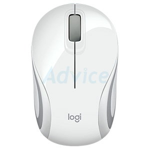 Wireless Optical Mini Mouse LOGITECH (M187) White