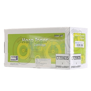 Toner-Re FUJI-XEROX CT201635 Y - HERO