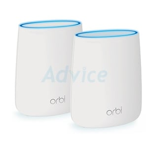 Whole-Home Mesh NETGEAR Orbi (RBK20) Wireless AC2200 Tri-band