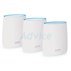 Whole-Home Mesh NETGEAR Orbi (RBK23) Wireless AC2200 Tri-band