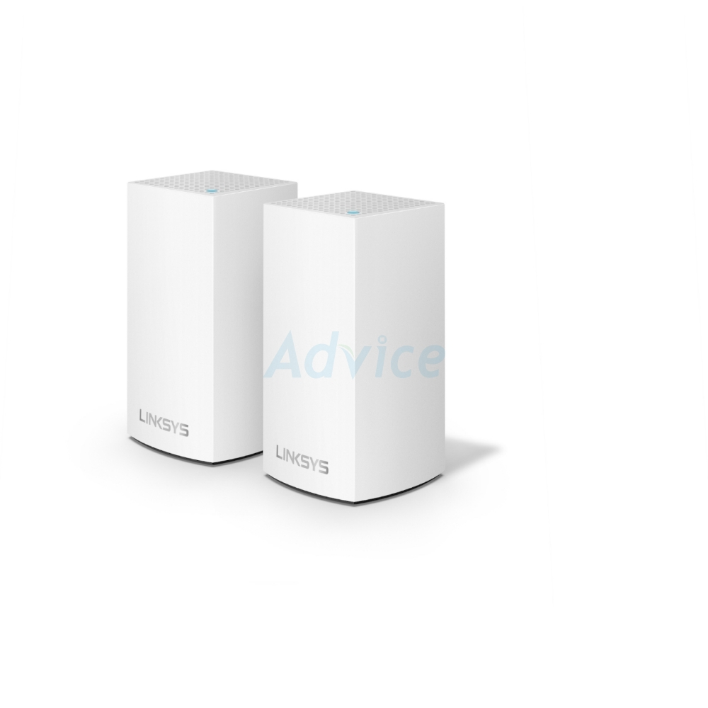 Whole-Home Mesh LINKSYS VELOP (WHW0102-AH) Wireless AC2600 Dual Band (Pack 2)
