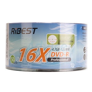 DVD-R 'RIBEST Printable (50/Pack)