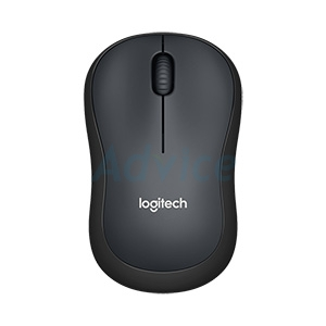 Wireless Optical Mouse LOGITECH (M221Silent) Black