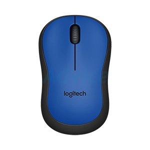 Wireless Optical Mouse LOGITECH (M221-Silent) Blue
