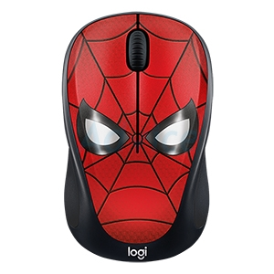 Wireless Optical Mouse LOGITECH (M238) MARVEL COLLECTION SPIDERMAN