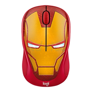 Wireless Optical Mouse LOGITECH (M238) MARVEL COLLECTION IRON MAN