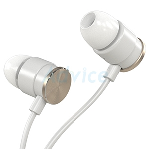 Small Talk Earphone 'PISEN' (C001) White/Gold