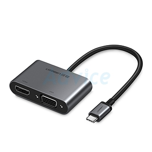 Converter Type-C TO HDMI &VGA UGREEN (50505)