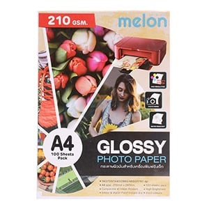 Photo Inkjet Glossy A4 210G. MELON (100/Pack)