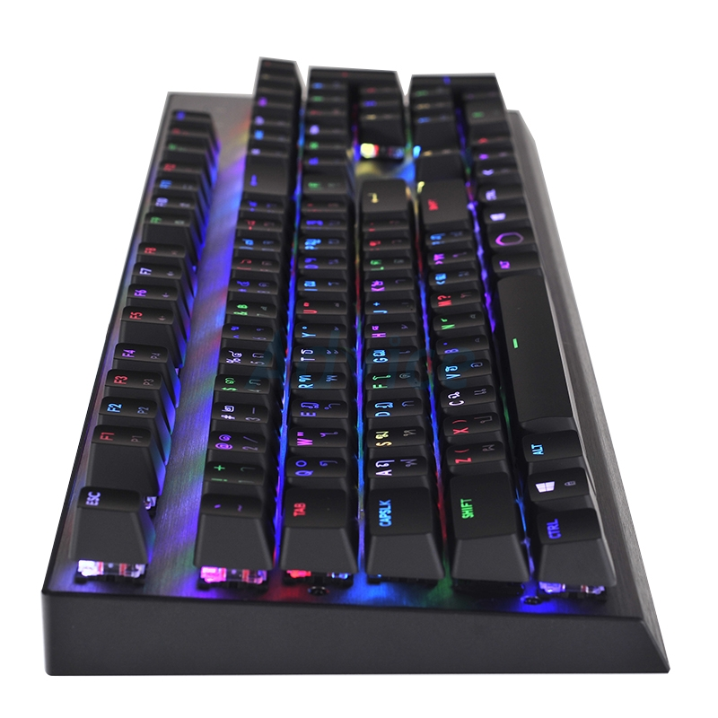 KEYBOARD COOLERMASTER CK350 RGB (Brown-Switch) (TH)