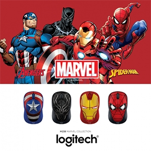 BOX SET MOUSE MARVEL COLLECTION (M238) PACK4