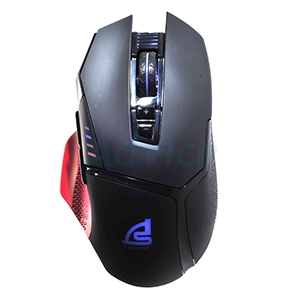 OPTICAL MOUSE SIGNO E-SPORT GM-971 REDDUST MACRO GAMING