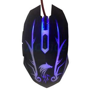 OPTICAL MOUSE WOLVES-ORIGIN Sabre (Black)