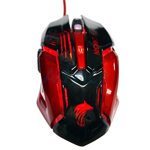 OPTICAL MOUSE WOLVES-ORIGIN Battle (Black)