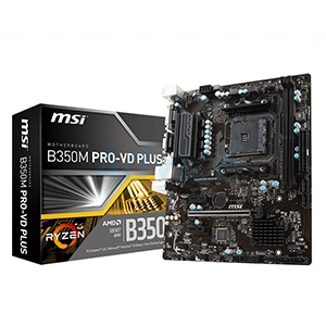 (AM4) MSI B350M PRO VD PLUS