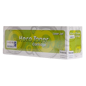 Toner-Re BROTHER TN-263 BK - HERO